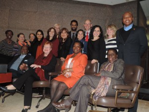 Strategizing for youth and women with the High-Level Task Force
