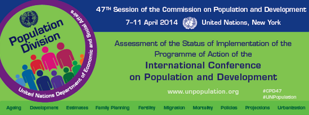 Renate Baehr: My address to the Commission on Population and Development (CPD) in New York