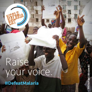 How are you celebrating World Malaria Day this Friday?