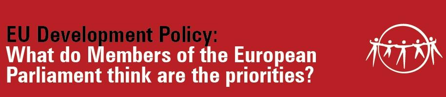 European Parliament Development Priorities – what MEPs said