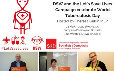 Save the Date: DSW celebrates World TB Day in the European Parliament