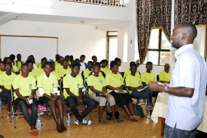 DSW Uganda: Youth encouraged to participate in governance issues