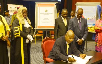 Ugandan President Museveni advocates for smaller families