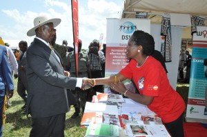 Celebrating World Population Day in Uganda – a visit from the President
