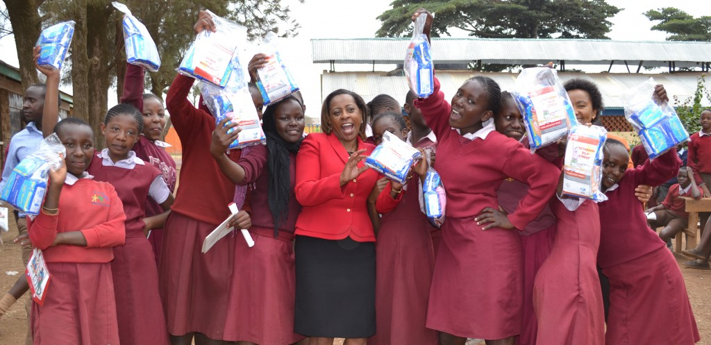 Keeping girls in school: Bayer and DSW staff give back to society