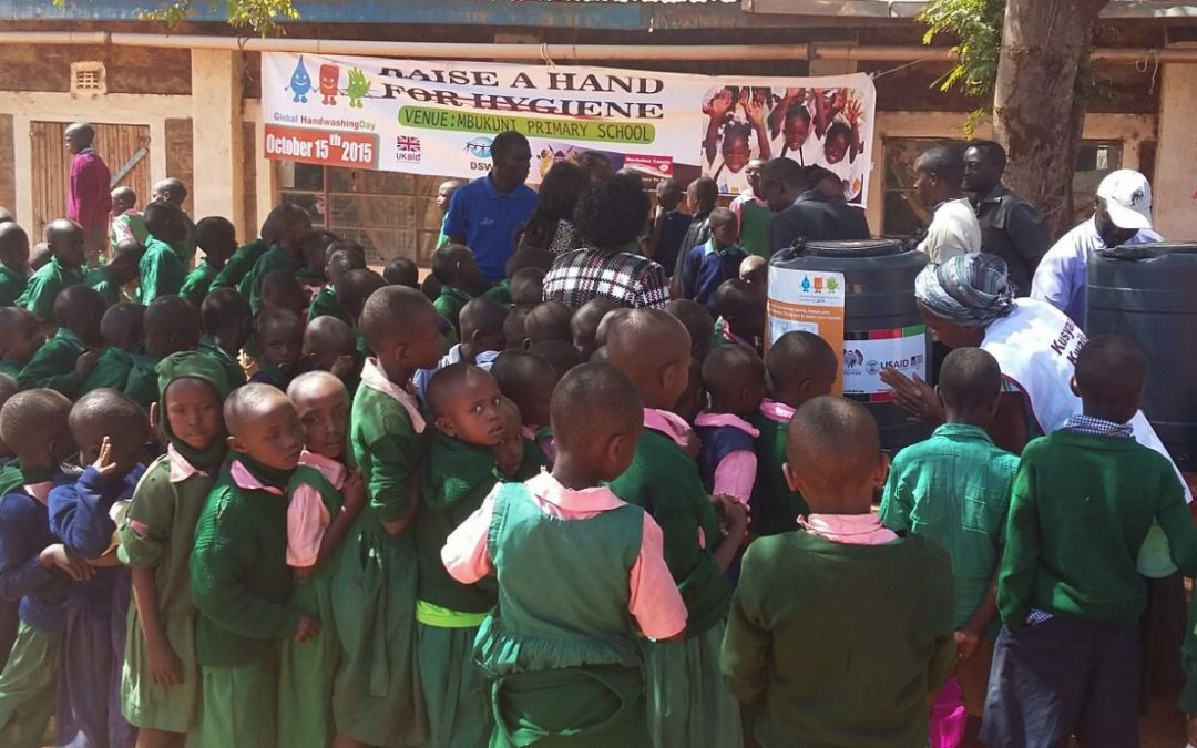 Global handwashing day: Preventing diarrheal diseases with soap and water