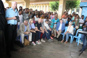 DSW Board Members Tour Projects in Ethiopia