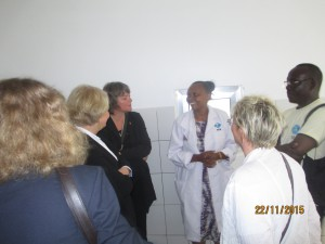 German Members of Parliament (MPs) visit DSW 's Youth Center