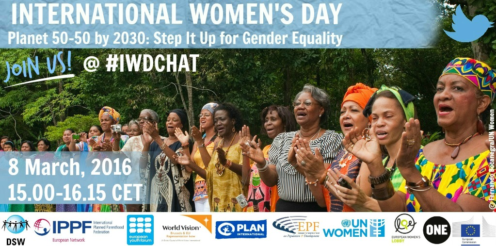International Women's Day 2016 – join the debate on gender equality on March 8!