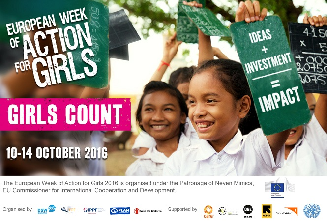 European Week of action for girls