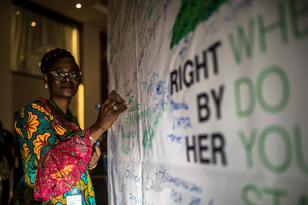 Best moments of the Africa Regional Dialogue: Bob Marley stands #RightByHer