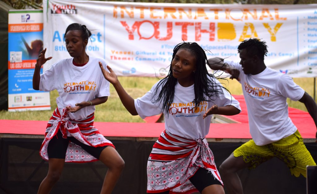 Kenya: Youth in Nairobi hold community convention to mark International Youth Day 2018
