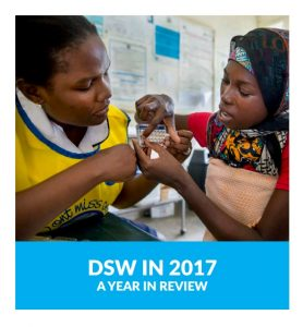 DSW Annual Report 2017 Snippet Cover Page