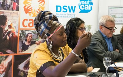 International Women's Day in Brussels – Advocating for Africa's youth