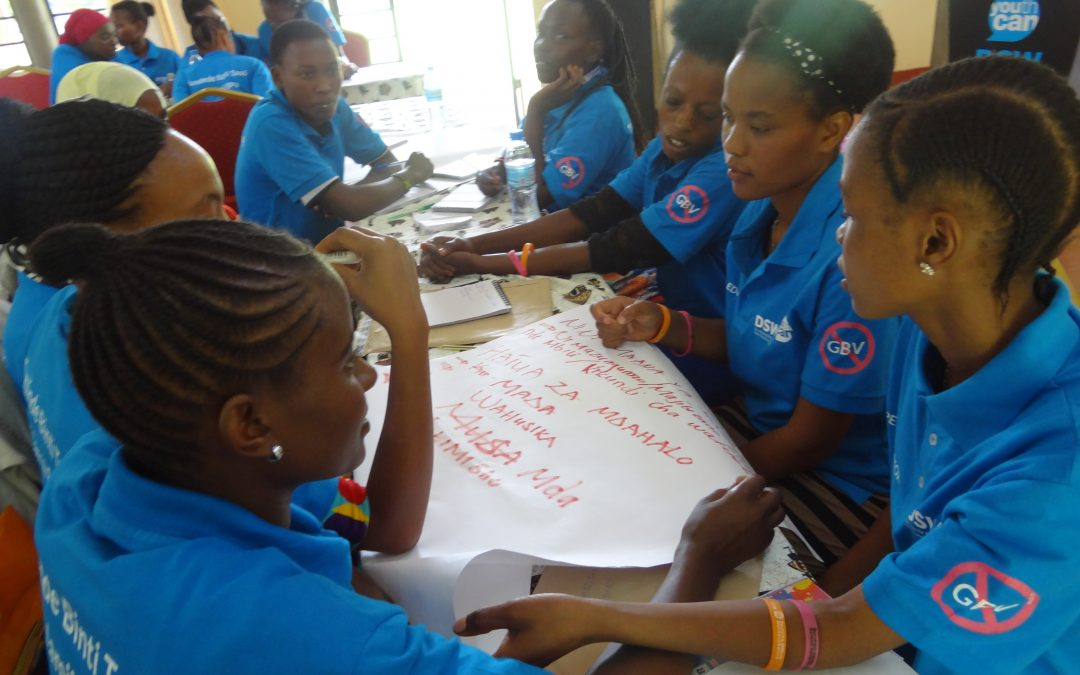 GIRLS AT THE FRONT LINE TO PREVENT GBV IN TANZANIA