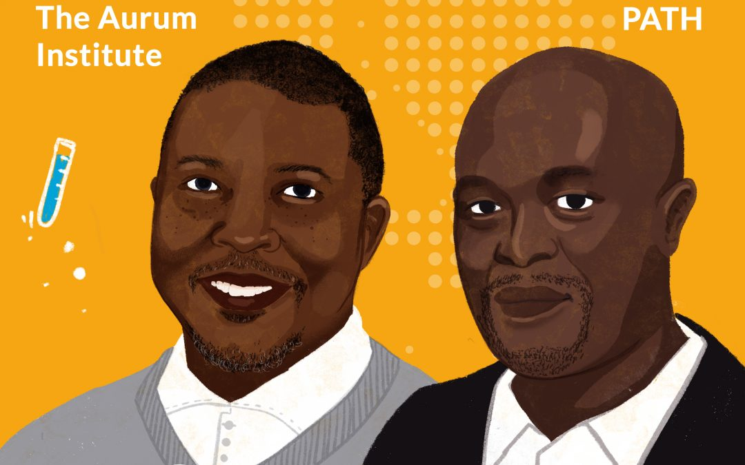 African Research Excellence – Episode 2: ​Prof. Geoffrey Setswe, The Aurum Institute and Sibusiso ​Hlatjwako, PATH