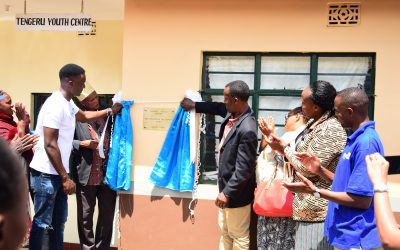 DSW  Tanzania Launches Youth Empowerment Centres