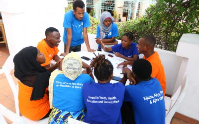 Youth Champions Call for Investment in Youth Friendly Services