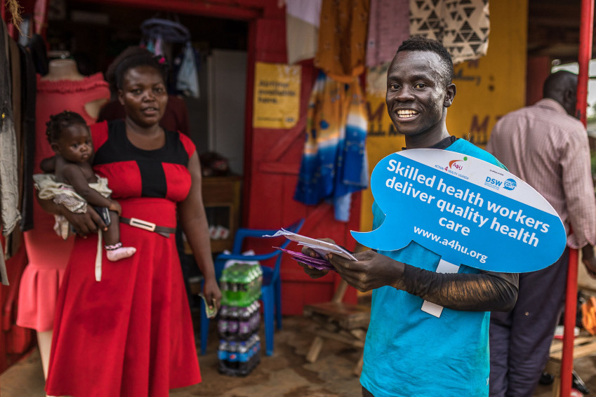A new EU-Africa partnership with health, youth and women at its core