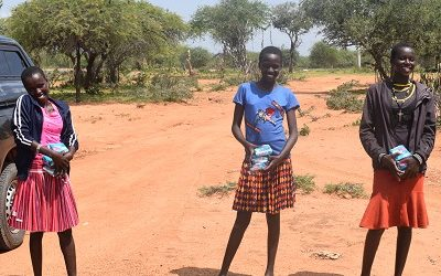 """""""In Kenya, girls miss more than 50 days of school because of their menstruation"""""""