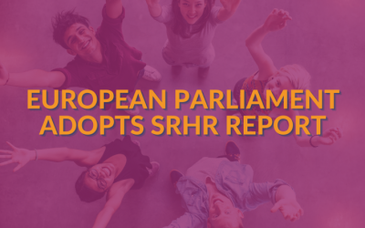 European Parliament adopts landmark position on sexual and reproductive rights