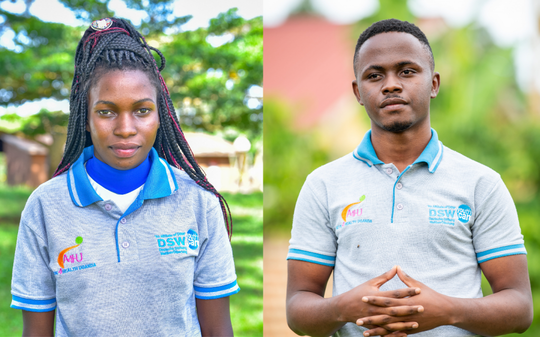 Youth leaders in Uganda driving change for young people.