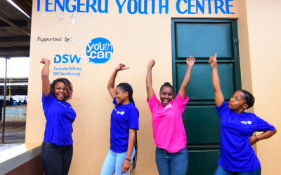 Two DSW Youth Champions transforming young lives in Tanzania