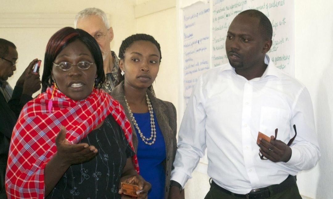 Gruppendiskussion beim Faith to Action Workshop in Uganda