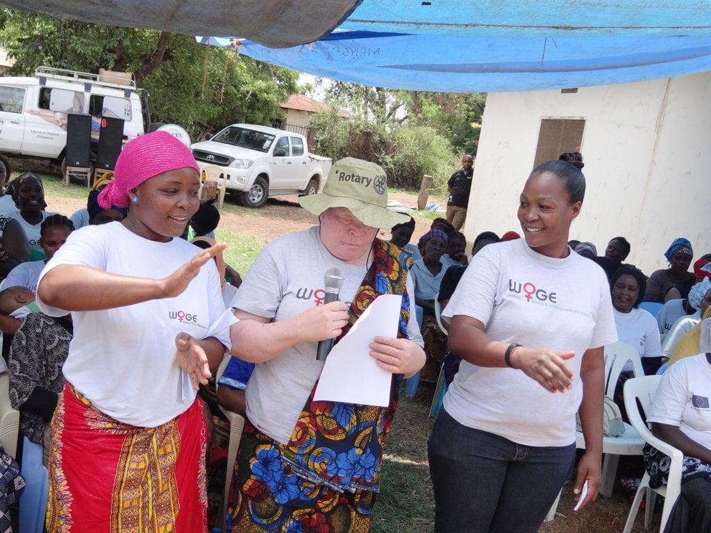 ,Von ich kann nicht zu ich kann' – Neues Mädchen und Frauen Zentrum in Tansania