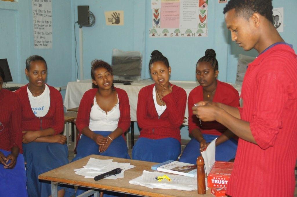 Jugendberater in Äthiopien