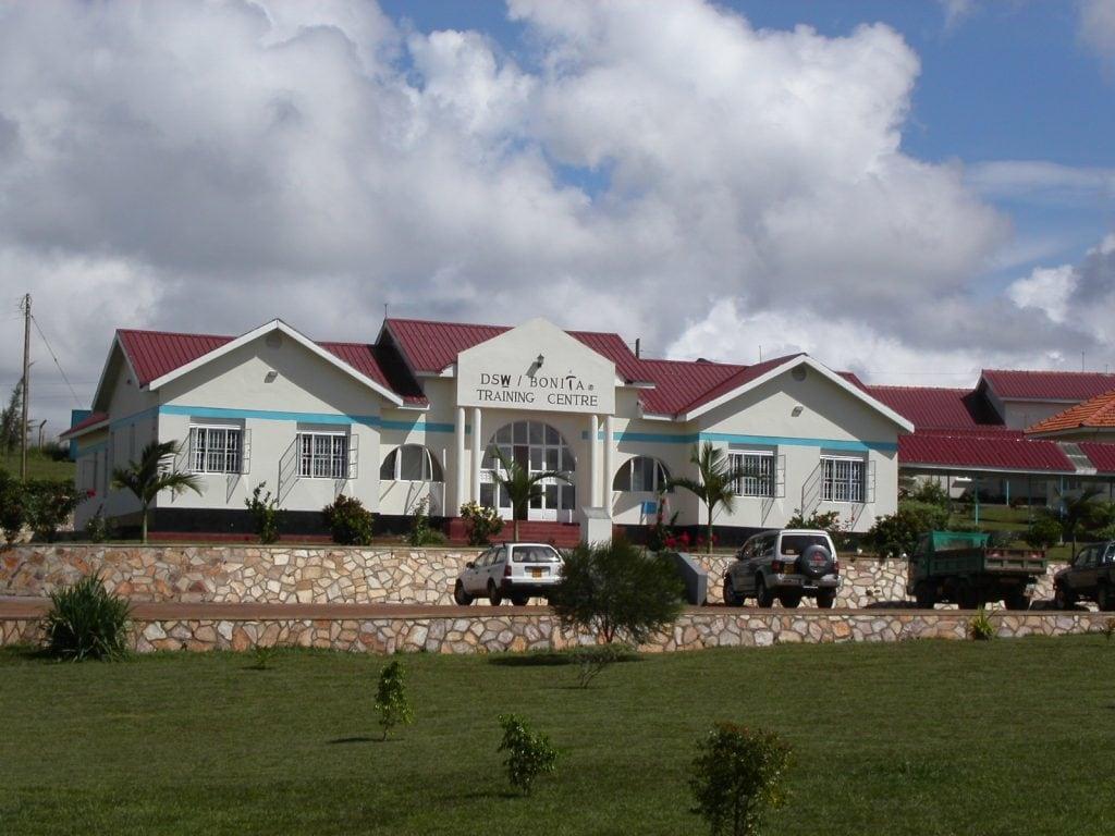 Unser erstes Trainingszentrum in Uganda
