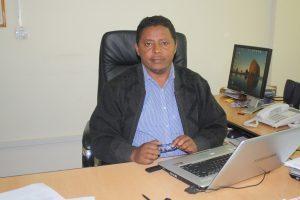 Feyera Assefa, Leiter des DSW-Länderbüros in Äthiopien