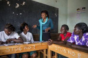 Aufklärungsunterricht in Nairobi, Kenia