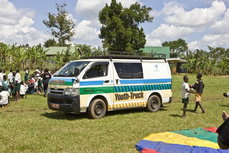 der alte Youth Truck in Uganda