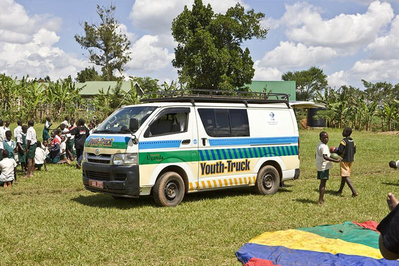 Youth Truck der DSW in Uganda