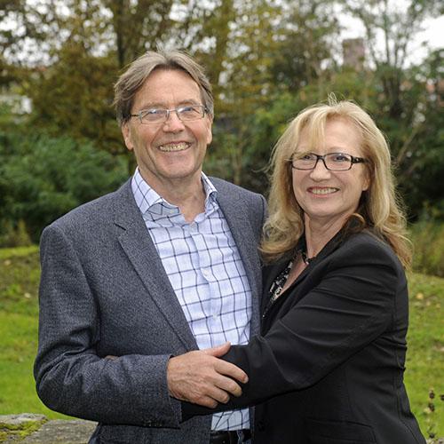 Maria und Uwe Thomas Carstensen, Gründer der MUT-Stiftung