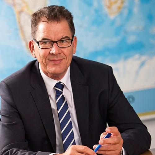 Dr. Gerd Müller, Bundesminister für wirtschaftliche Zusammenarbeit und Entwicklung