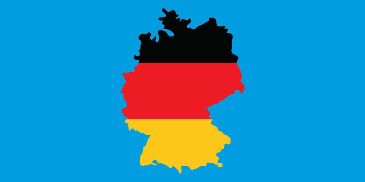 Icons nachhaltige Entwicklungsziele: Deutschland