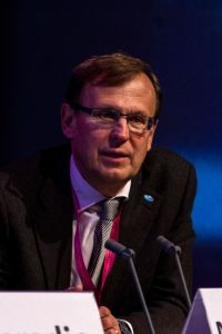 Dr. Mario Raviglione, Direktor des weltweiten Tuberkulose-Programms der Weltgesundheitsorganisation (WHO),
