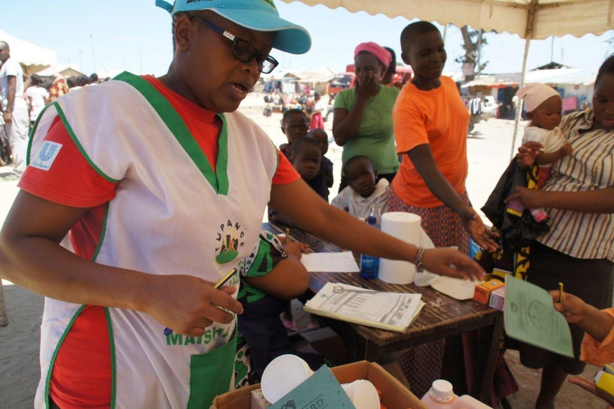 Gesundheitsmitarbeiter in Kenia