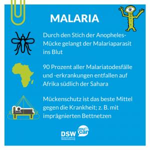 Steckbrief Malaria