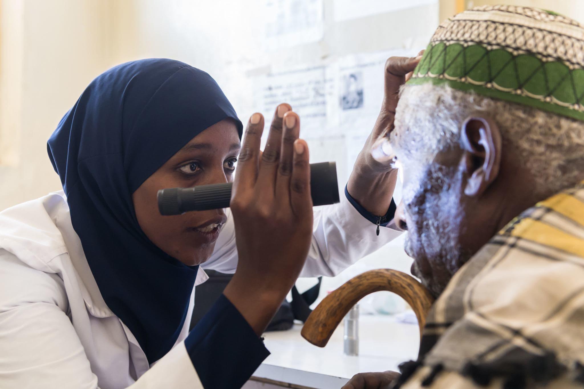 Im Fokus: Trachom und Flussblindheit – der Krankheit ins Auge blicken