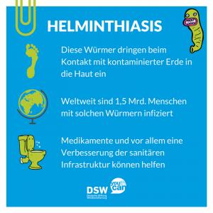 Wurmkrankheiten: Steckbrief Helminthiasis
