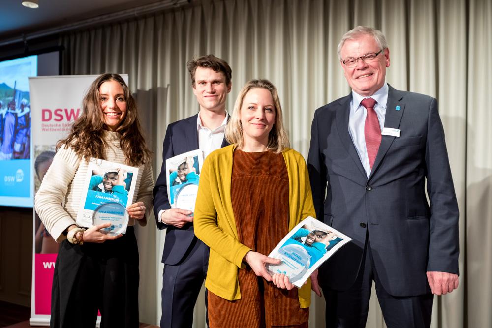 """Deutsche Stiftung Weltbevölkerung verleiht Medienpreis """"Weltbevölkerung"""""""