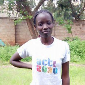 Silvia ist 25 und Jugendberaterin in Kenia