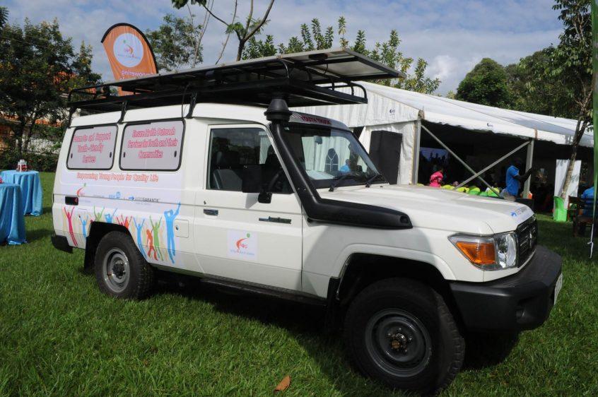 Der Youth Truck Uganda wird SRHR Informationen in ländliche Gebiete bringen