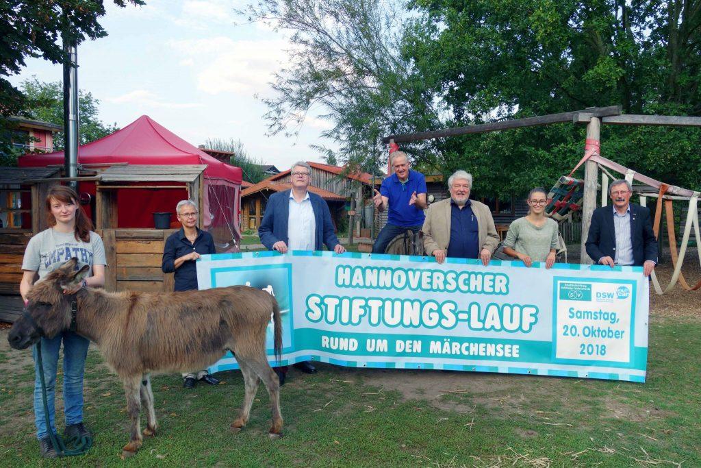 Hannoverscher Stiftungslauf zugunsten der Deutschen Stiftung Weltbevölkerung