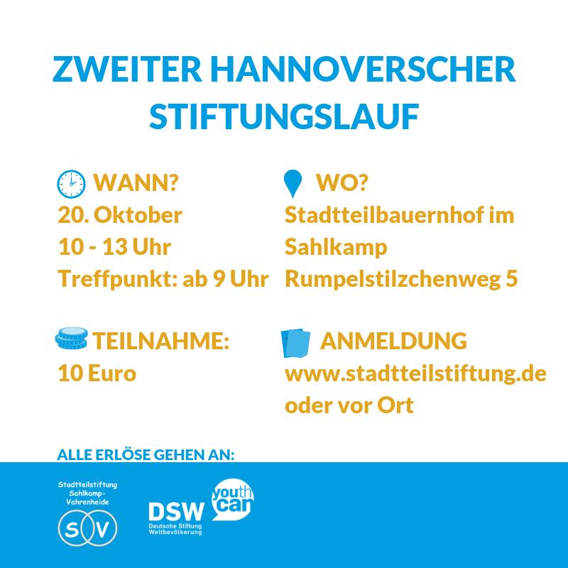 Stiftungslauf Hannover - alle Informationen