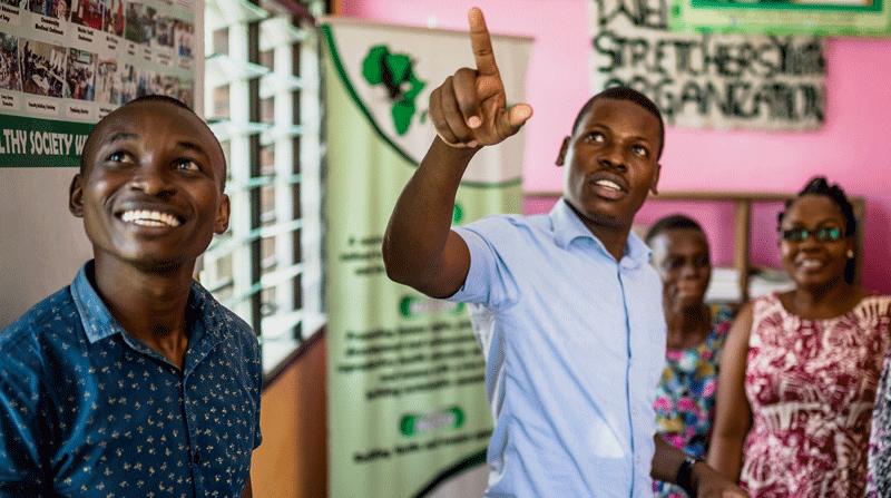 DSW-Projekt SLALE: Vom Jugendklub zur NGO