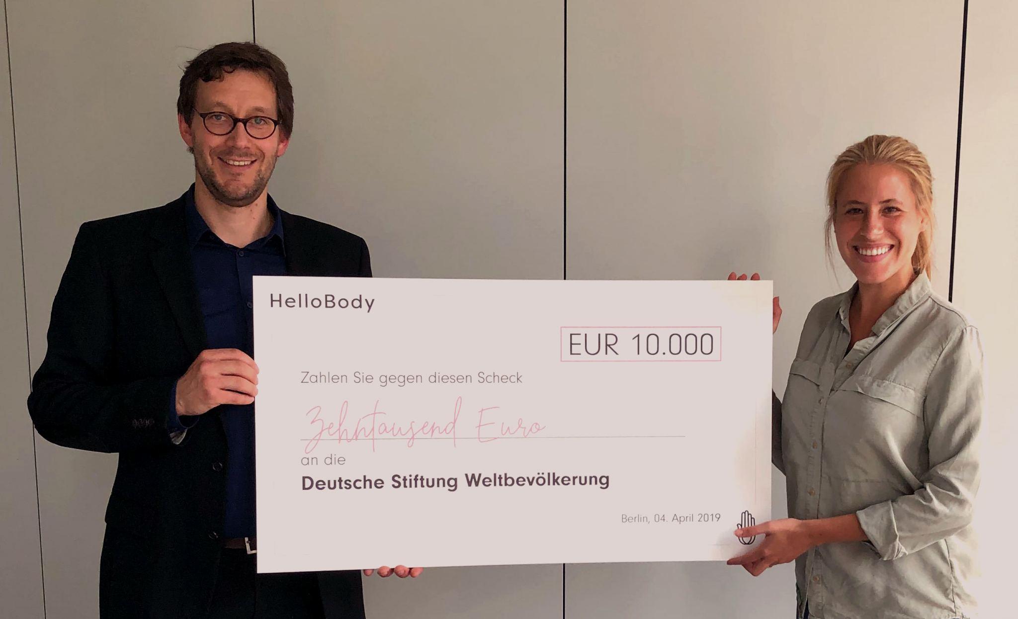 HelloBody spendet für DSW-Projekt gegen Genitalverstümmelung